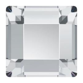2400 plaksteen 4 x 4 mm crystal F (001)  p/20