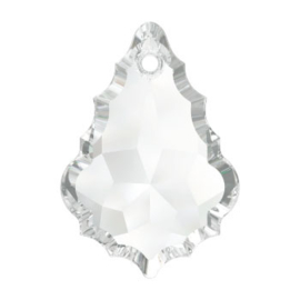 6091 Baroque hanger 50 x 35 mm crystal (001)