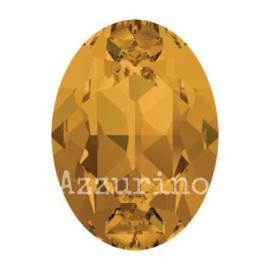 4120 Fancy Stone 8 x 6 mm topaz F (203) p/12