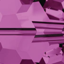 4722 puntsteen driehoek 8 mm amethyst G (204) p/10