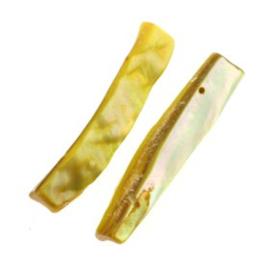 schelp divider 2 gaats 44 x 8 mm geel p/12