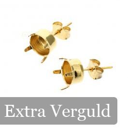 oorsteker ss39 GPL+5mils met STS 430 nickel-free pin zonder oog p/5 paar