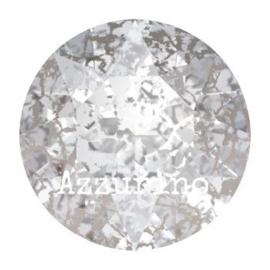 1088 Xirius Chaton puntsteen 6.10 mm / SS 29 crystal silver patina (001 SILPA)   p/10