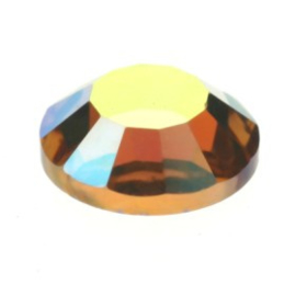2028 plaksteen 4,8 mm / SS 20 light colorado topaz AB F (246 AB)  p/50
