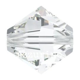 kraal biconisch 3 mm crystal (001) p/50