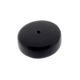 kraal black horn disc 8 x 18 mm p/12