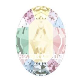 4120 Fancy Stone 8 x 6 mm Crystal F AB (001 AB) p/12
