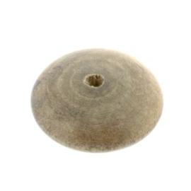 kraal hout disc 30x12mm greywood p/10