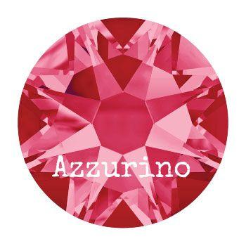 2028 plaksteen 4,8 mm / SS 20 indian pink F (289)  p/50