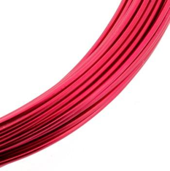 Aluminiumdraad 1mm x 10 meter rood p/4