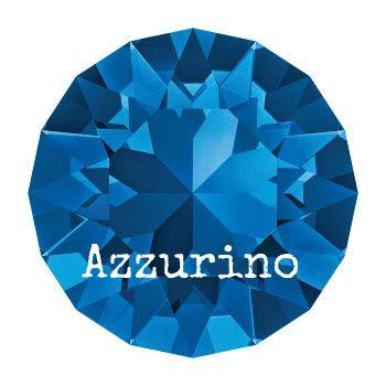 1028 Xilion Chaton puntsteen 6.10 mm / SS 29 capri blue (243) p/10