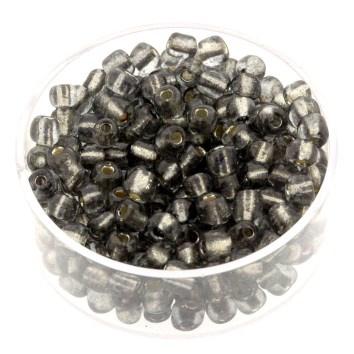 rocailles 6/0 zilver/grijs  p/500 gram  (038)