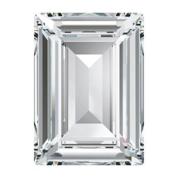 4527 Step Cut Fancy Stone 14 x 10 mm Crystal F (001) p/2