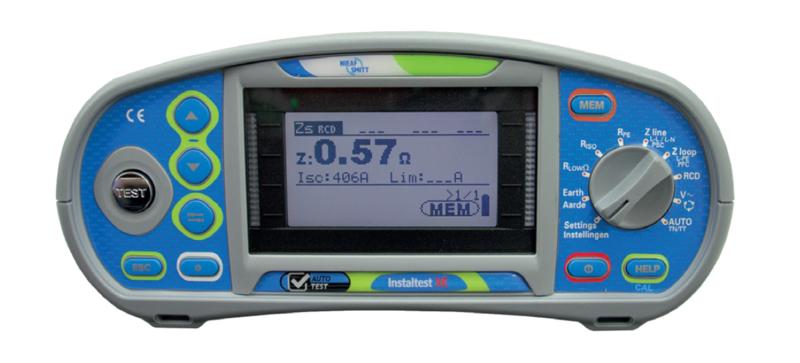 Verhuur: Instaltest XE Installatietester