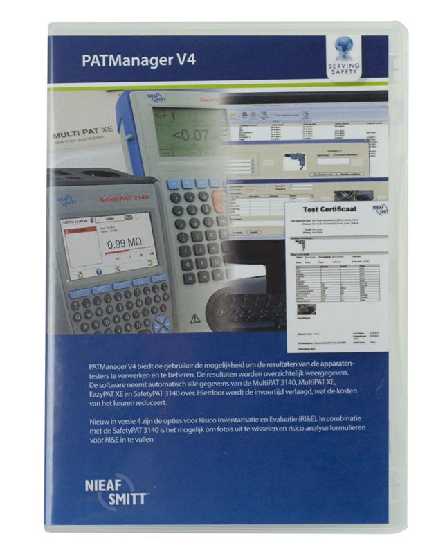 Nieaf Smitt PATManager v4 software - extra/netwerk licentie