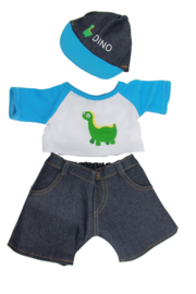 Dino outfit incl.pet 40cm