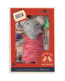 Knuffelmuis Julia