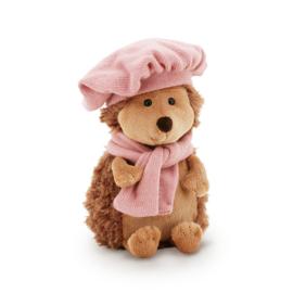 Egeltje met roze baret