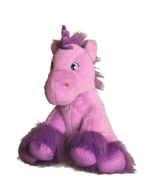 Paarse Unicorn 40cm
