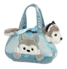 Husky in tas