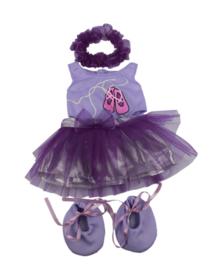 Paarse Ballerina 40cm