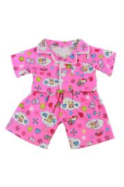 Roze pyjama 25cm