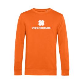 Oranje VERZORGENDE. Heren Sweater