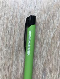 Lichtgroen VERPLEEGKUNDIGE. Pen