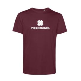 Bordeaux VERZORGENDE. Heren Shirt