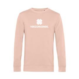 Pastel roze VERZORGENDE. Heren Sweater