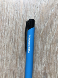 Lichtblauw VERZORGENDE. Pen