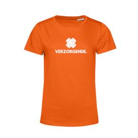 Oranje VERZORGENDE. Shirt Ronde hals