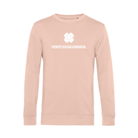 Pastel roze VERPLEEGKUNDIGE. Heren Sweater