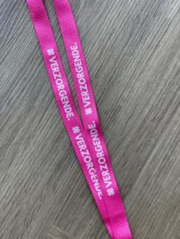 Fluor Roze VERZORGENDE. keycord