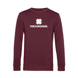 Bordeaux VERZORGENDE. Heren Sweater