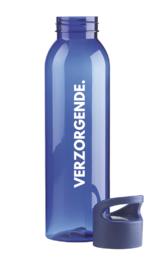 Blauw VERZORGENDE. Waterfles