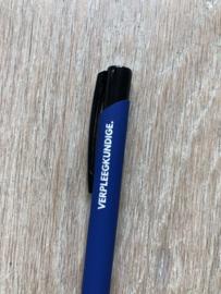 Donkerblauw VERPLEEGKUNDIGE. Pen