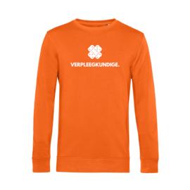 Oranje VERPLEEGKUNDIGE. Heren Sweater