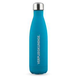 PRE-ORDER: Blauw Soft VERPLEEGKUNDIGE. Thermosfles Krijt