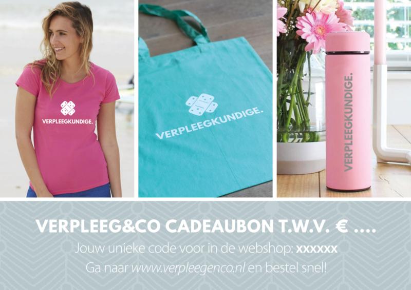VERPLEEG&CO Digitale cadeaubon