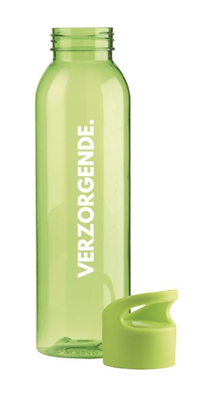 Groen VERZORGENDE. Waterfles
