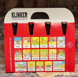 4-pack Klinker Mestreechter Leesplankje