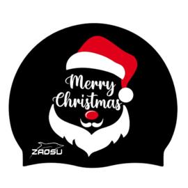 Kerstbadmuts zwart