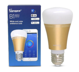 Sonoff | B1 | LED RGB dimmable | E27 Or