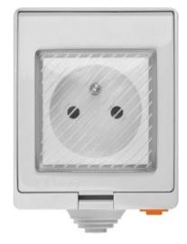 Sonoff | S55 FR | Wifi | Wandcontactdoos | IP55 waterdicht