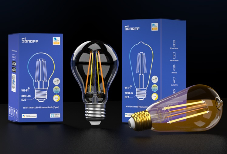 Sonoff | B02 F-A60 | LED à filament dimmable | E27
