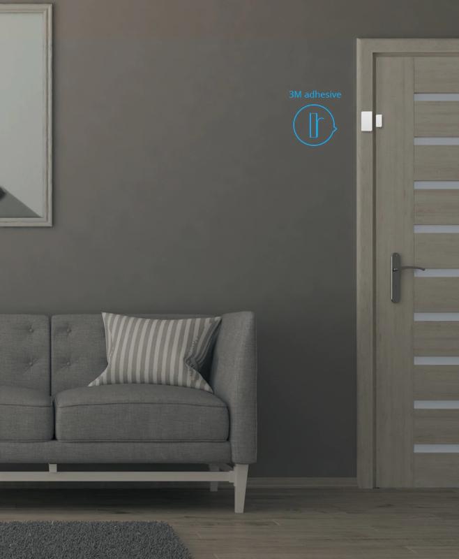 Sonoff | ZigBee | SNZB-04 |  Capteur de porte et de fenêtre