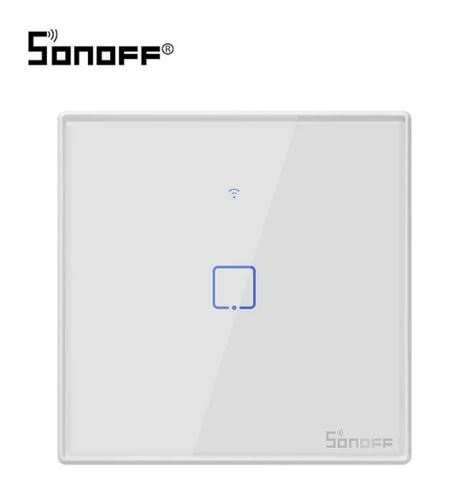 Sonoff | Wifi + RF | Interrupteur simple | Blanc