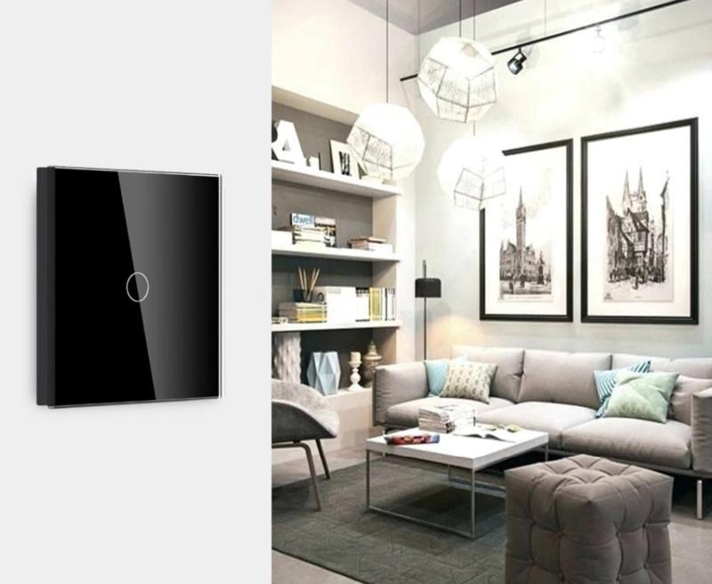 Sonoff | T433 | Interrupteur mural sans fil | Noir | 02