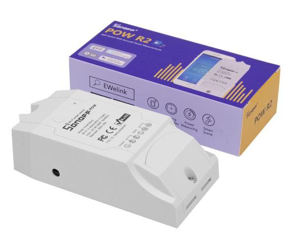 Sonoff | Pow R2 | Wifi | Stroom en Voltage monitoren